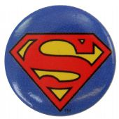 Superman Logo - Button Badge